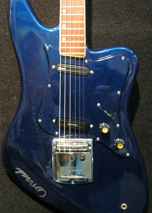 Custom painted mirrored blue ton-on-tone Conrad